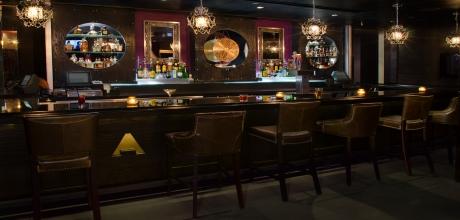 Grab a nightcap at Angels & Kings at the Hard Rock Hotel