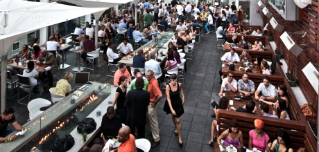 Grab a midday drink at ROOF on TheWit