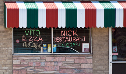 "Complete the ""Southside"" Challenge at Vito & Nick's, part of the Explore Chicago Music Trek for SCVNGR!"