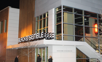 Explore the NEW Black Ensemble Theater Cultural Center in Uptown!