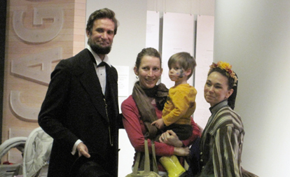 Meet Abe and Mary Todd Lincoln at the Chicago History Museum on Presidents' Day!