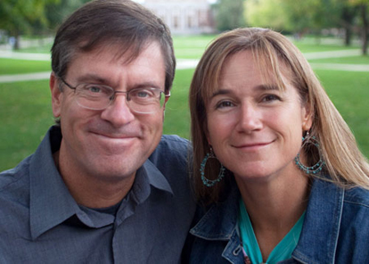Anne Ryan and John Zich