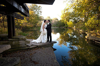 A Romantic Photo Op at the Alfred Caldwell Lily Pool