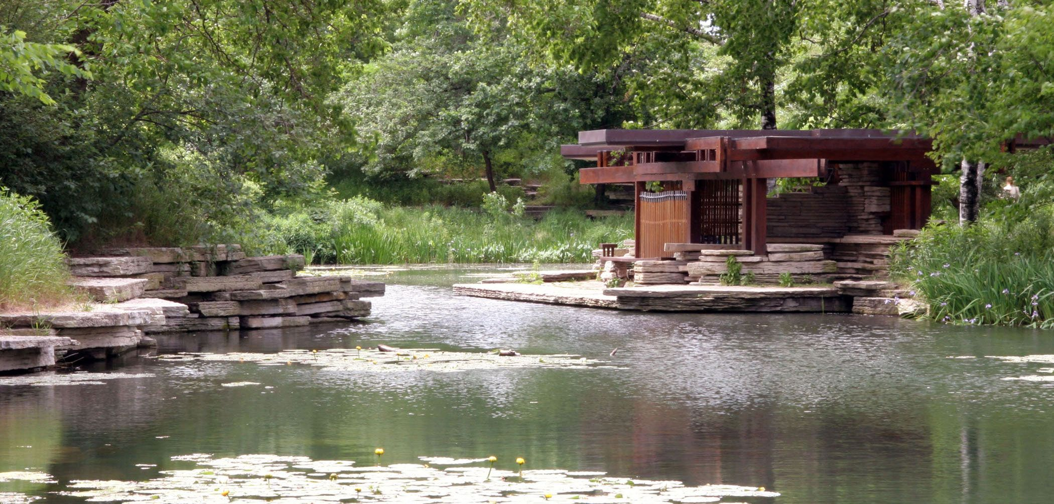 Alfred Caldwell Lily Pool in Lincoln Park