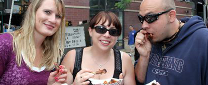 Sample neighborhood restaurants' fare at Chicago's Ribfest