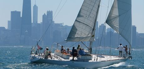 Explore Chicago on a sailboat