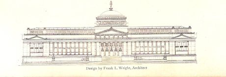 Design by Frank Lloyd Wright
